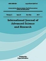 International Journal of Advanced Science and Research
