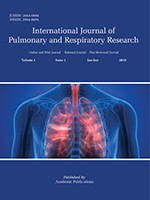 International Journal of Pulmonary and Respiratory Research