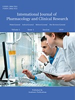 International Journal of Pharmacology and Clinical Research