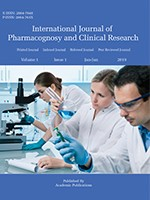 International Journal of Pharmacognosy and Clinical Research