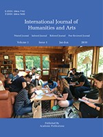 International Journal of Humanities and Arts