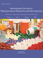 International Journal of Pharmaceutical Research and Development