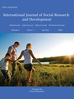 International Journal of Social Research and Development