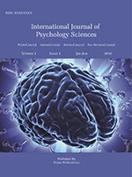 International Journal of Psychology Sciences