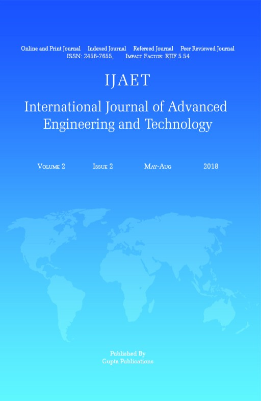 International Journal of Advanced Engineering and Technology
