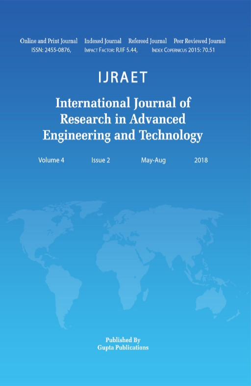 International Journal of Research in Advanced Engineering and Technology