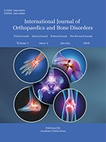 International Journal of Orthopaedics and Bone Disorders