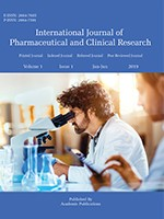 International Journal of Pharmaceutical and Clinical Research