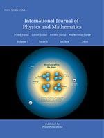 International Journal of Physics and Mathematics