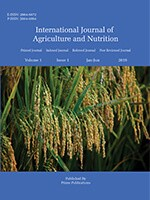 International Journal of Agriculture and Nutrition