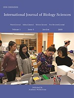 International Journal of Biology Sciences